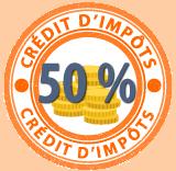 Badge crédit d'impôt