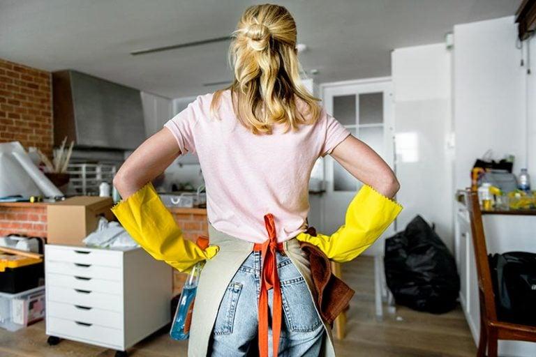 Les grands nettoyage avec Adaée aide à domicile